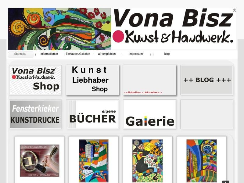 Screenshot von www.vona.biz